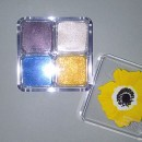 The Body Shop Shimmer Cubes Eye Palettes, Farbe: Yellow Poppy (LE)