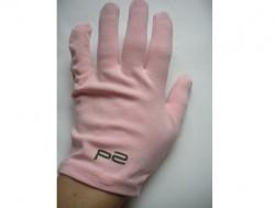 Produktbild zu p2 cosmetics Baumwoll-Pflegehandschuhe