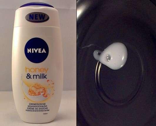 Nivea Honey & Milk Cremedusche