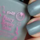 p2 fancy beauty tales scandalous matte nail polish, Farbe: 020 shocking grey (LE)