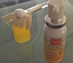 Produktbild zu Merz Spezial Schaum-Maske S.O.S. Trockene Haut