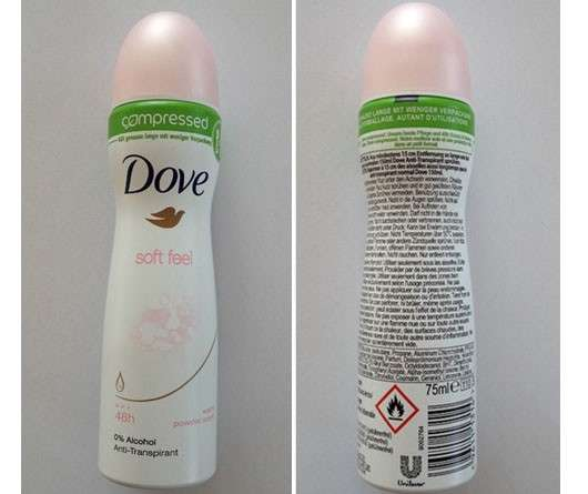Dove Soft Feel compressed Deo-Spray