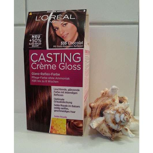loral paris casting crme gloss farbe 535 chocolat - L Oreal Coloration Chocolat