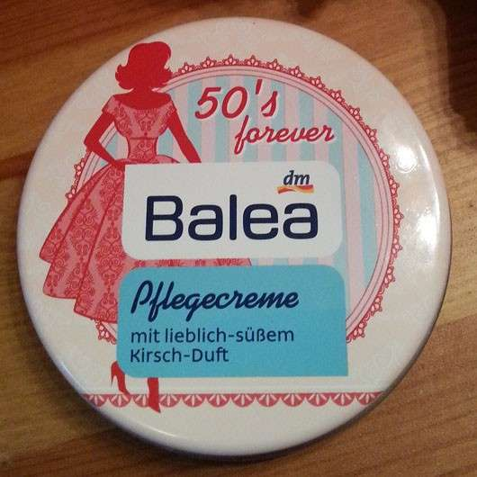 Balea Pflegecreme 50's forever