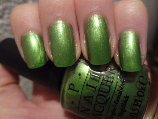 OPI Nail Lacquer, Farbe: My Gecko Does Tricks (LE)