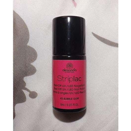 alessandro International Striplac Peel-Off UV / LED Nagellack, Farbe: 43 Bubble Gum