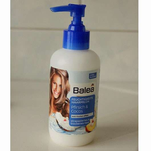 Balea Feuchtigkeits Haarmilch Pfirsich & Cocos