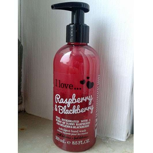 <strong>I love…</strong> Raspberry & Blackberry indulgent hand wash