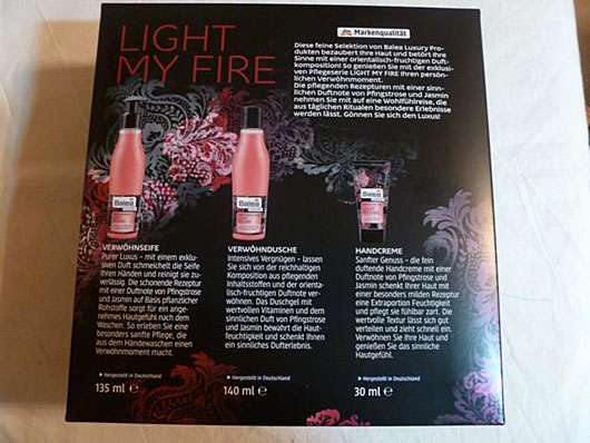 "Balea Luxury Verwöhnseife ""Light my Fire"""
