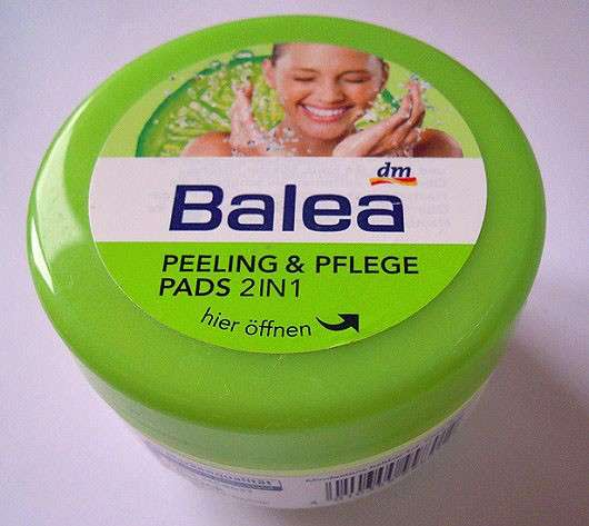 Balea Peeling & Pflege Pads 2in1