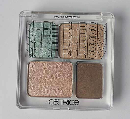 Catrice Nude Eye Colour Quattro, Farbe: C01 Naked Brown (LE)