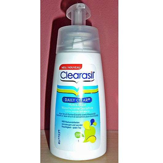<strong>Clearasil Daily Clear</strong> Hydra-Blast Waschcreme Sensitive