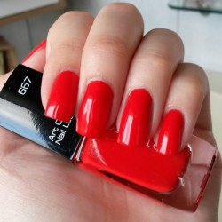 Produktbild zu ARTDECO Art Couture Nail Lacquer – Farbe: 667 couture fire-red