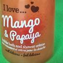 I love… mango & papaya bubble bath & shower crème (LE)