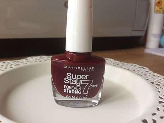 Maybelline Superstay Forever Strong 7 Days Gel Nail Color, Farbe: 287 Midnight Red