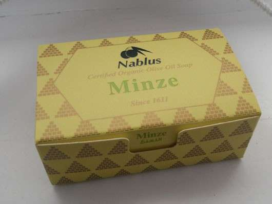 Nablus Soap Seife Minze