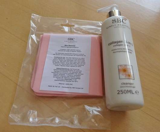 SBC Collagen 3-in-1 Cleanser