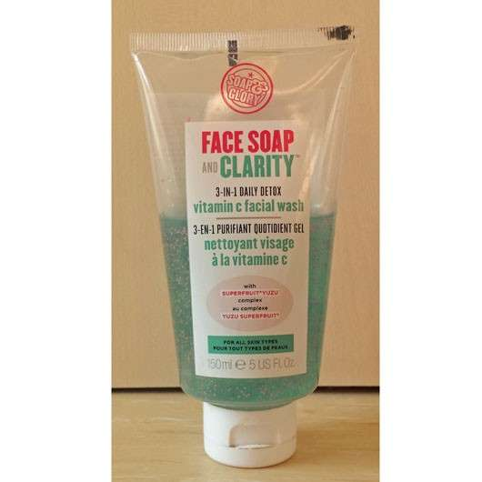 Soap & Glory Face Soap and Clarity – vitamin c facial wash