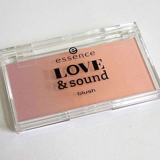 essence love & sound blush, Farbe: 01 sunset @ center stage (LE)