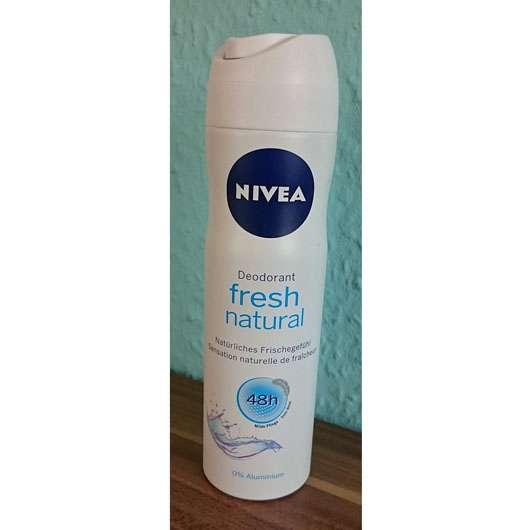 test deodorant nivea fresh natural 48h deodorant spray. Black Bedroom Furniture Sets. Home Design Ideas