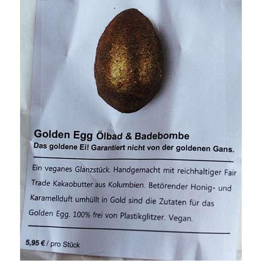 test badezus tze lush golden egg l badebombe le testbericht von diamondsarentforever. Black Bedroom Furniture Sets. Home Design Ideas