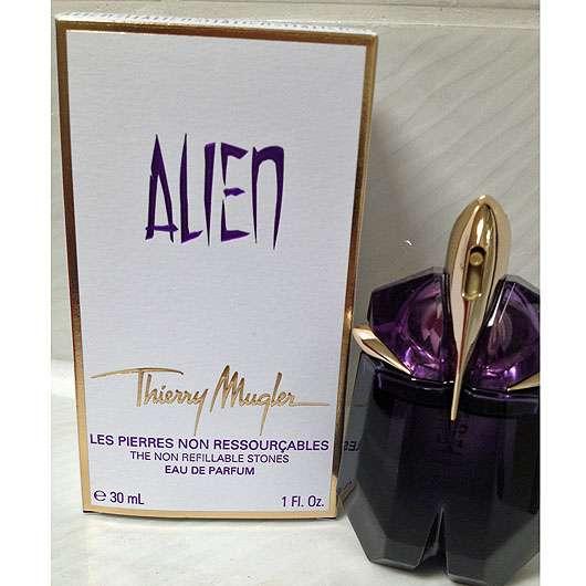 test damend fte thierry mugler alien eau de parfum testbericht von kleene 30. Black Bedroom Furniture Sets. Home Design Ideas