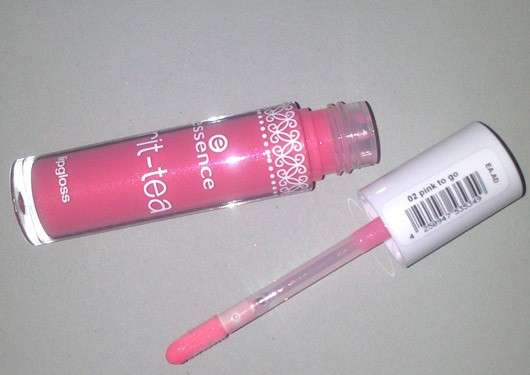 essence brit-tea lipgloss, Farbe: 02 pink to go (LE)