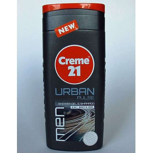 Creme 21 Men Urban Pulse Shower Gel & Shampoo