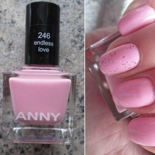 ANNY Nagellack, Farbe: 246 endless love (LE)