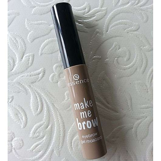 essence make me brow eyebrow gel mascara, Farbe: 01 blondy brows