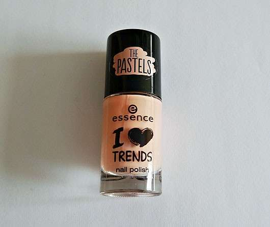 essence I love trends nail polish the pastels, Farbe: 03 i'm so fluffly