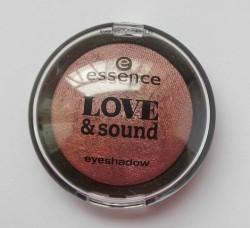 Produktbild zu essence love & sound eyeshadow – Farbe: 01 glastonberry (LE)