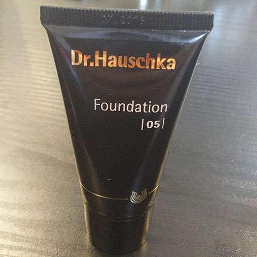 test foundation dr hauschka foundation farbe 05. Black Bedroom Furniture Sets. Home Design Ideas