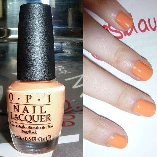 OPI Nail Lacquer, Farbe: Is Mai Tai Crooked? (LE)