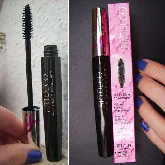 ARTDECO All in One Mascara Pink Ribbon, Farbe: 01 black (LE)