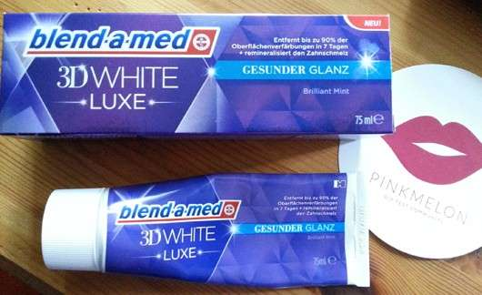 <strong>blend-a-med</strong> 3D White Luxe Gesunder Glanz Zahncreme