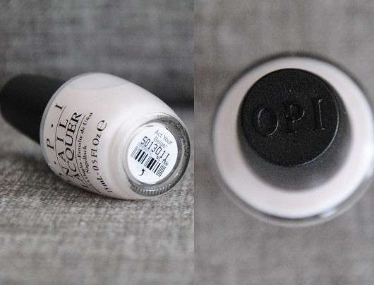 OPI Nail Lacquer, Farbe: Act Your Beige! (LE)