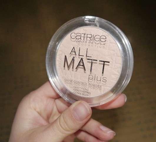 Catrice All Matt Plus Shine Control Powder, Farbe: 015 Natural Beige