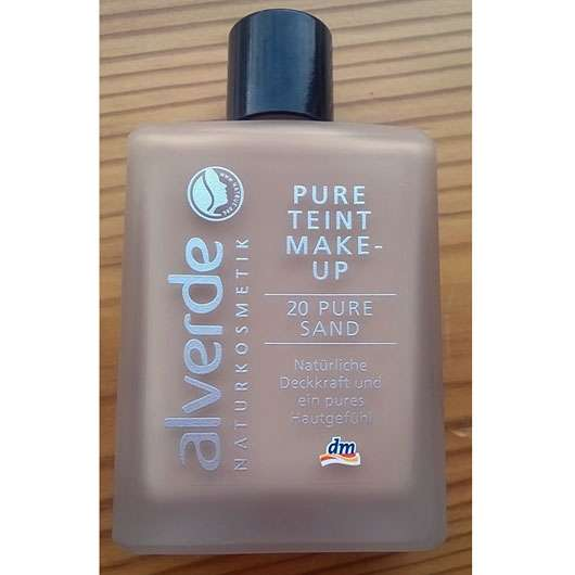 alverde Pure Teint Make-up, Farbe: 20 Pure Sand