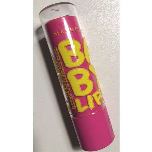 test lippenpflege maybelline baby lips lippenbalsam farbe pink punch testbericht von. Black Bedroom Furniture Sets. Home Design Ideas