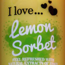 I love... Lemon Sorbet bath and shower crème (LE)