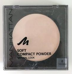 Produktbild zu MANHATTAN Soft Compact Powder Natural Look – Farbe: 0 Transparent