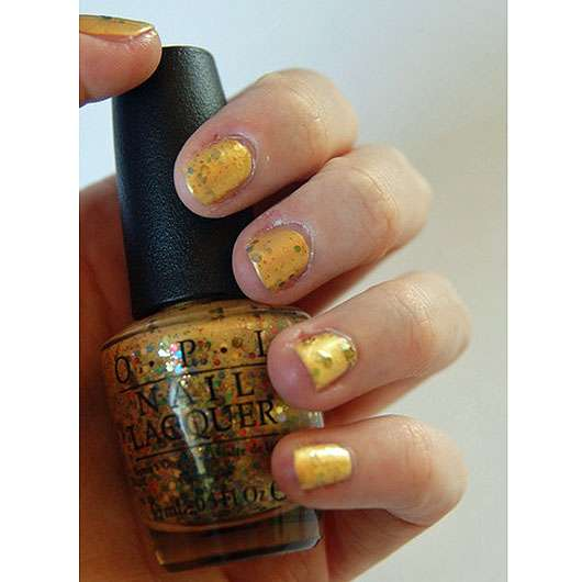 test nagellack opi nail lacquer farbe pineapples have peelings too le testbericht von. Black Bedroom Furniture Sets. Home Design Ideas