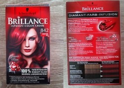 Produktbild zu Schwarzkopf Brillance Intensiv-Color-Creme – Farbe: 842 Kaschmir-Rot