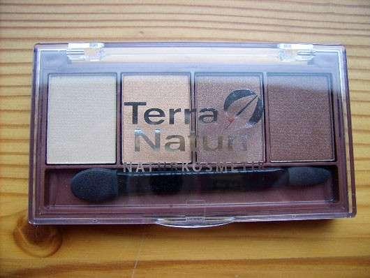Terra Naturi Quattro Eyeshadow, Farbe: 02 Golden Eyes