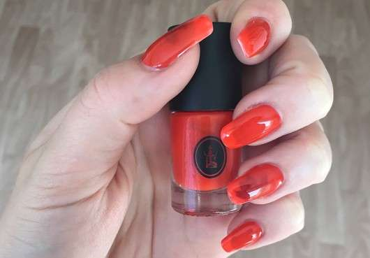 Sothys Nagellack, Farbe: 303 orange exotique (LE)