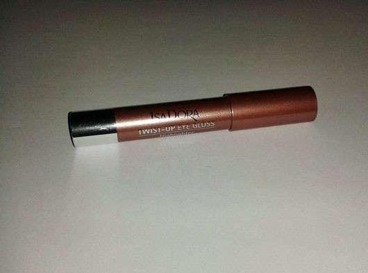 IsaDora Twist-up Eye Gloss, Farbe: 17 Sun Bronze (LE)
