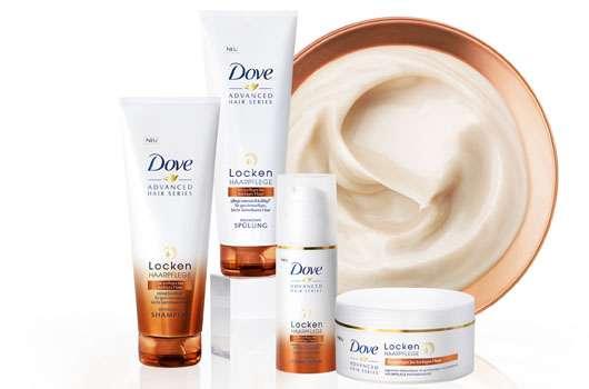 Dove locken haarpflege creme serum