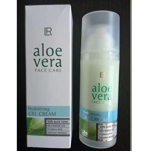 test tagespflege lr aloe vera hydratising gel cream testbericht von maiiami. Black Bedroom Furniture Sets. Home Design Ideas
