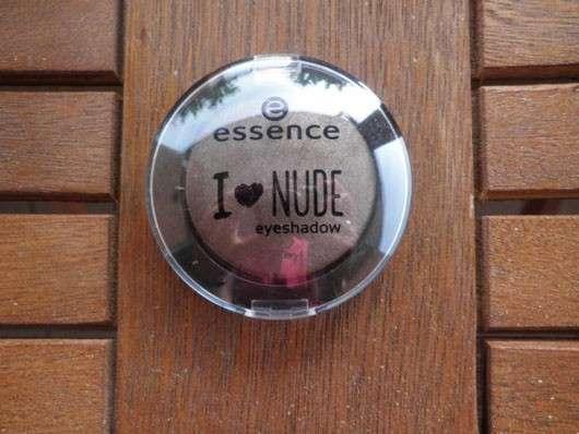 essence I love nude eyeshadow, Farbe: 06 coffee bean